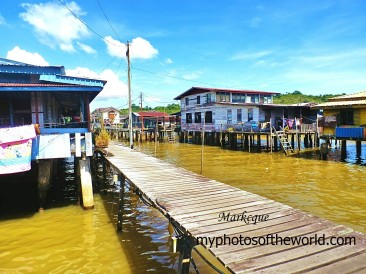 Houses on stilts which are in existence for 1300 years are found in Kampong Ayer in Brunei