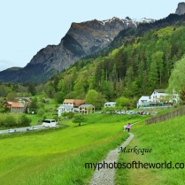 Heidiland is a picturesque place in Switzerland. It is actually the setting of the story Heidi.