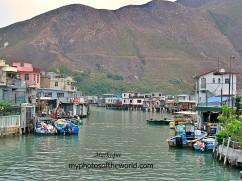 Ngong Ping is a fishing village in the western coast of Lantau Island, Hong Kong.