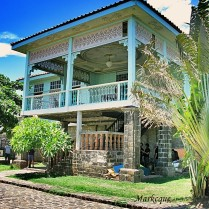This Spanish-colonial era house is found in Las Casas Filipinas in Bataan, Philippines.