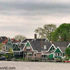 Volendam Netherlands is Holland's well-known fishing village.