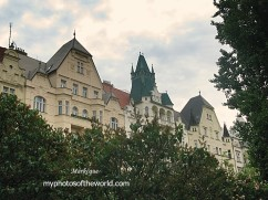 In the 13th Cent., Jews were forced to live in only one area (the Jewish Quarter) in Prague, Czech Rep.