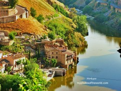 Toledo, Spain is known as the City of 3 Cultures because of Christians, Muslims & Jews influences